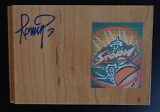 Ramu Tokashiki Signed Wnba Floor Tile Seattle Storm Basketball Japan Free Ship