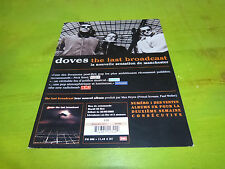 DOVES - THE LAST BROADCAST !!!!!!!!!!!!!!!!!!T!RARE FRENCH PRESS/KIT