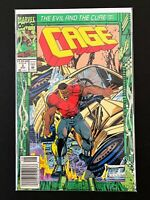 CAGE #5 MARVEL COMICS 1992 NM NEWSSTAND EDITION LUKE CAGE POWER-MAN
