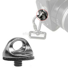 1/4 inch Screw For DSLR SLR Camera Strap Tripod Quick Release Plate Mount 1X