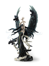 Faery of Ravens by Nene Thomas Statue