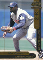 Mo Vaughn 2000 Opening Day 2K #OD25 Angels baseball card