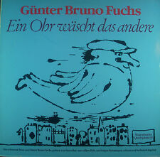 LP Günter Bruno Fox - One Ear Washes the Others, Wagenbachs quartplatte 19