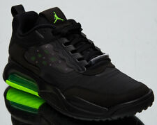 Jordan Air Max 200 GS Older Kids' Black Green Athletic Lifestyle Sneakers Shoes