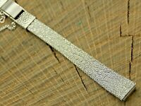 Seiko Vintage NOS Unused Butterfly Clasp Stainless Steel Watch Band 10mm Ladies