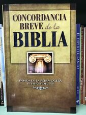 Concordancia Breve de la Biblia : Concise Concordance of the Bible (1985, Paper…