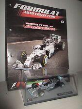 MERCEDES F1 W05 2014 LEWIS HAMILTON  #F1 CON FASCICOLO 1:43