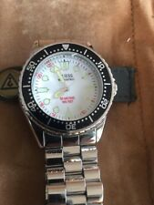 GUESS WATERPRO 50m 165feet WATCH MEN QUARTZ RELOJ
