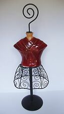 """Ceramic Mannequin Dress Form 22"""""""