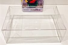 1 Box Protector For NINTENDO AMIIBO NEW SMALL SIZE ONLY!  Clear Display Case