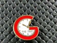 PINS PIN BADGE MONTRE WATCH TIC TAC