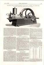 1898 Campbell Gas Engine Kingston Halifax Electric Light Oil Engine