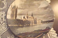 "Royal Doulton Collector Plate ""Houses of Parliament""[Dl14]"