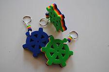 Talamex Schlüsselanhänger schwimmfähiger color Hartschaum-Anhänger Steuerrad