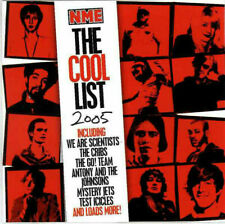 NME CD The Cool List 2005 ( The Cribs , We Are Scientists , Lupen Crook )