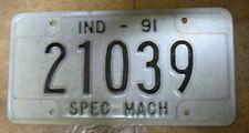 Indiana US Autoschild License Plate Nummernschild 30x15 cm sehr guter Zustand
