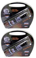 (2) BULLZ AUDIO 2200W 12V BCAP 2.2 Digital Car Power Farad Capacitors | BCAP2.2