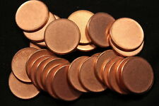 One (1) USA ERROR Coin Blank Planchet Penny Cent 2.5 grams Uncirculated with rim