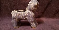 Vintage Cameron Clay Products blue baby lamb planter Baby Shower