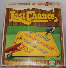 LAST CHANCE 1978 Ideal Game *100% Complete* Vintage