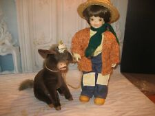 "Anri Juan Ferrandiz""Gabriel&#0 34; With His Donkey Le#256/1000 Signed O'Hilie Rinaster"