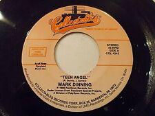 Mark Dinning Teen Angel / Ray Peterson Corinne Corinna 45 Vinyl Record