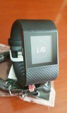Fitbit Surge Fitness Wireless Heart Rate GPS Smart Watch Large Black Fit Bit