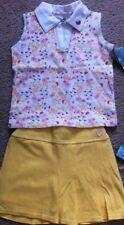 NWT Healthtex 2 Pc Outfit Girls Skirt & Shirt Sz 4 Skirt Shorts Tank Watermelon