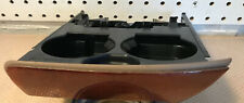 1997-2003 Lincoln Navigator FORD F-150 EXPEDITION  CUP HOLDER OEM Woodgrain