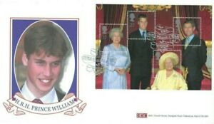 2000 Queen Mother, BHC Prince William Official FDC, Cat £20