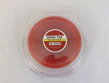 "Walker Sensi-Tac Tape Red Liner Clear Wig Toupee Hairpiece Roll 3/4"" x 36 Yard"