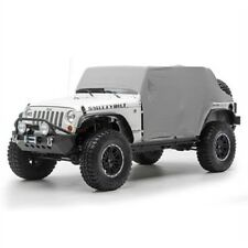 Smittybilt 1069 Cab Cover With Door Flap Water Resistant For 07 15 Jeep Jk Fits Jeep