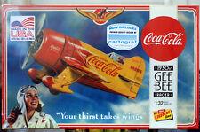 1930er gee bee Racer rennflugzeug coca cola 1:32 Lindberg 515 nuevo otra vez 2017