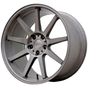 "19 Inch Verde VFF02 Flow Form 19X9 5x114.3(5x4.5"") +30mm Palladium Wheel Rim"