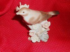 Lladro Nightingale Bird #1226 Retired 1972 Flowering Branch Broken Beak