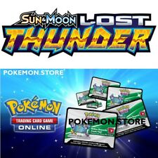 50 Lost Thunder Codes Pokemon Tcg Online Booster - sent Ingame / Emailed Fast!