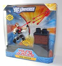 """DC Universe Young Justice RED ARROW w Sculped Diorama 6"""" Poseable Figure"""