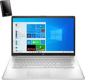 """2021 Newest HP 17 17.3"""" HD+ Laptop Computer, Intel Core I3 1115G4 up to 3.2Ghz ("""