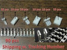 10 sets KF2510-2P 3P 4P 2.54mm Pin Header+Terminal+Housing Connector Kits