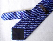CRAVATTA UOMO (TIE)  vintage LANVIN Paris  made in France New!  rare