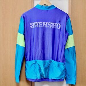 Vintage Rare Ciedy 3RENSHO long Sleeve Cycling Jersey zunow cherubim nagasawa