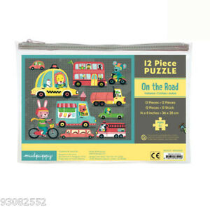 Mudpuppy 12 Piece Jigsaw Puzzle -- On the Road 2+