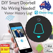 720P DIY Smart Wifi Wireless Doorbell Video Security Chime Camera Waterproof HD
