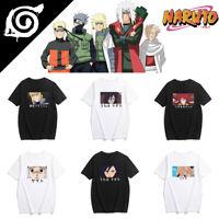 2019 Fashion Narutos Cosplay T-shirt Funny Print Tee Harajuku Plus Size Top Gift