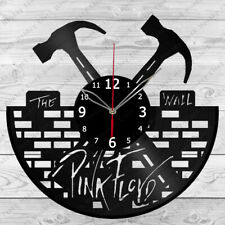 Vinyl Clock Pink Floyd Vinyl Record Wall Clock Home Art Decor Handmade 156