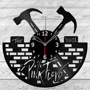 Vinyl Clock Pink Floyd Vinyl Record Wall Clock Home Art Decor Handmade 156