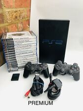 Sony PlayStation 2 PS2 Console TESTED WORKING Official Pad Plus PREMIUM 20 Games