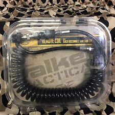 New Valken V-Tac Paintball Remote Line Coil w/ Quick Disconnect & Slide Check