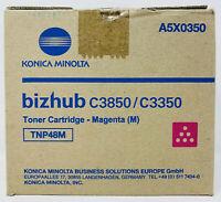 Konica Minolta A5X0350 TNP48M Toner Original Magenta Bizhub C3350/C3850 (10K)