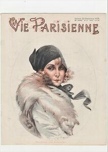 La Vie Parisienne Magazine  Champagne Dance  Art Deco 22nd December 1928